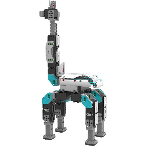 Робот UBTECH JIMU Inventor (16 servos) Комплектация 675 основных детали, 16 сервомотора, 1 контрольный короб, 1 зарядное устройство, 1 литиевая батарея, инструкция по эксплуатации, коробка для хранения