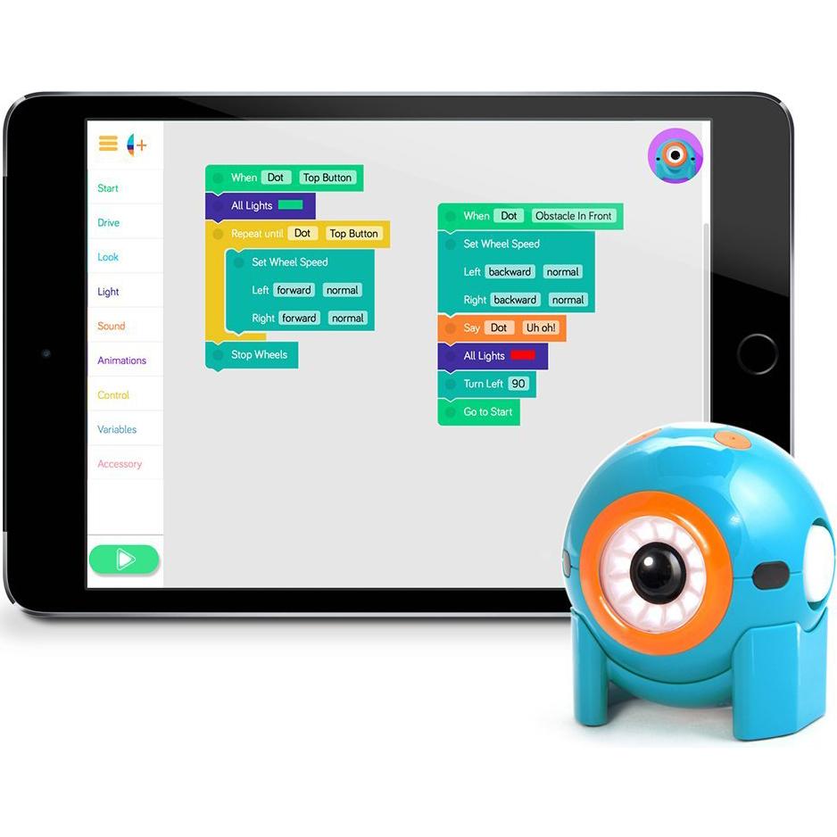 Робот WONDER WORKSHOP Робот Dot (1-DO01-04) Питание акумулятор