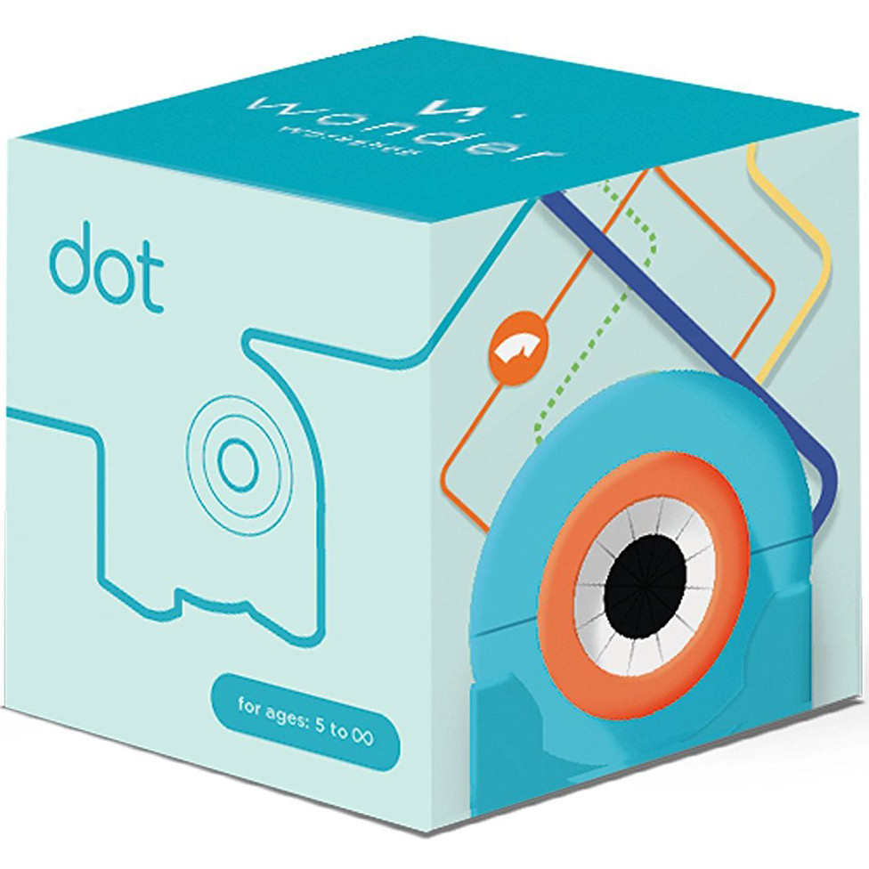 Робот WONDER WORKSHOP Робот Dot (1-DO01-04) Колір синій