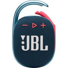 Портативна акустика JBL Clip 4 Blue Coral (JBLCLIP4BLUP)