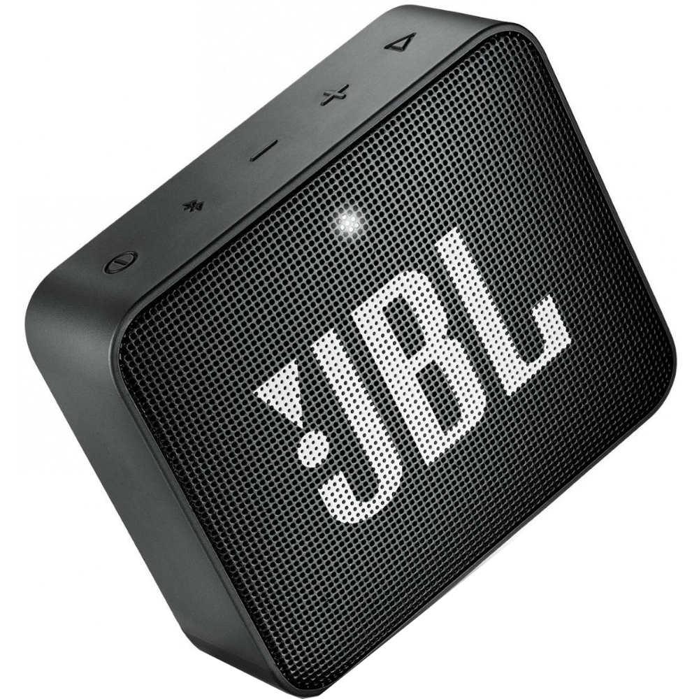 Портативная акустика JBL Go 2 Midnight Black (JBLGO2BLK) Мощность 3