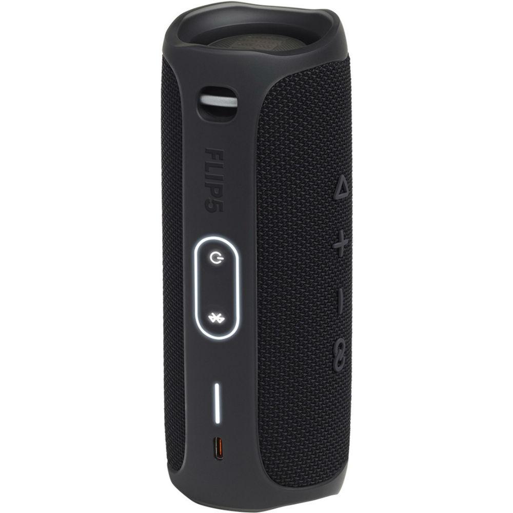 Портативная акустика JBL Flip 5 Black (JBLFLIP5BLK) Мощность 20