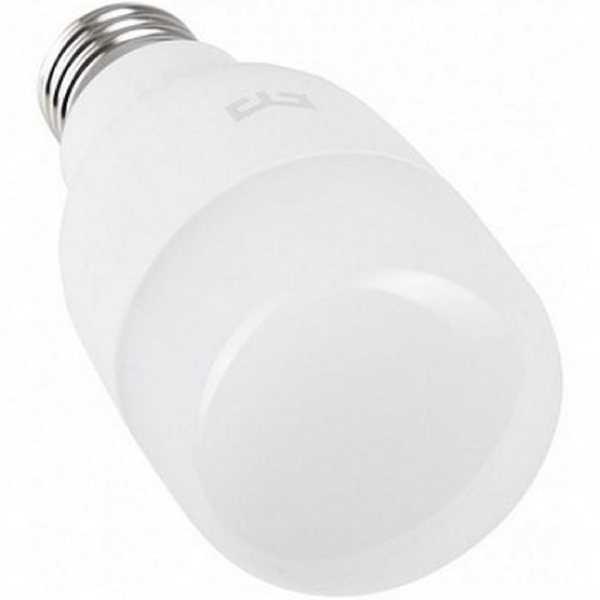 Умная лампа Yeelight LED Smart Wi-Fi Bulb Warm White YLDP05YL (Ф02697) Тип управления смартфон