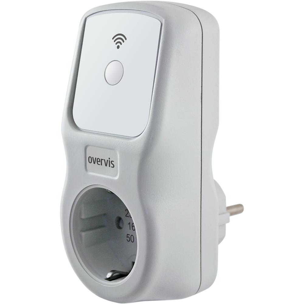 Смарт розетка NOVATEK ЕМ-125 (WI-FI) Тип управления смартфон
