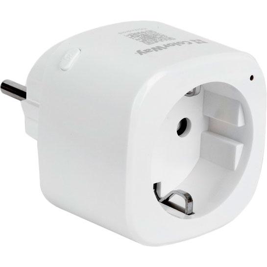 Умная розетка COLORWAY Wi-Fi CW-SP1A-PT Тип коммутируемая розетка