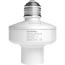 Умный Wi-Fi патрон ColorWay для лампочки E27 (CW-LH3A-TM)
