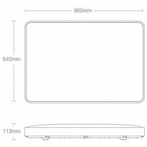Стельовий смарт-світильник YEELIGHT Crystal Ceiling Light Pro 960 мм White (XD085U0CN) Тип світильник