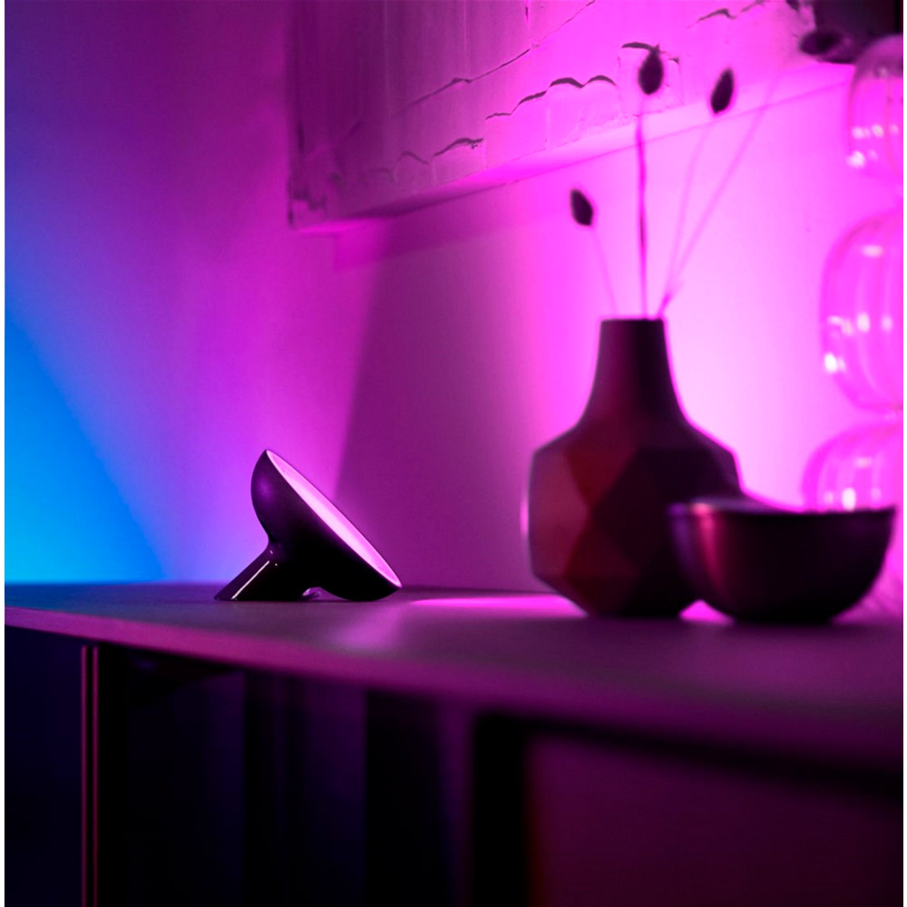 Настільна лампа Philips Hue Bloom 2000K-6500K Color BT, DIM Black (929002376001) Тип управління смартфон