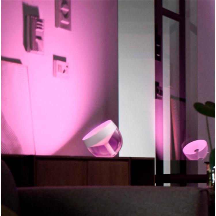 Настільна лампа Philips Hue Iris 2000K-6500K Color BT, DIM White (+929002376101) Тип світильник