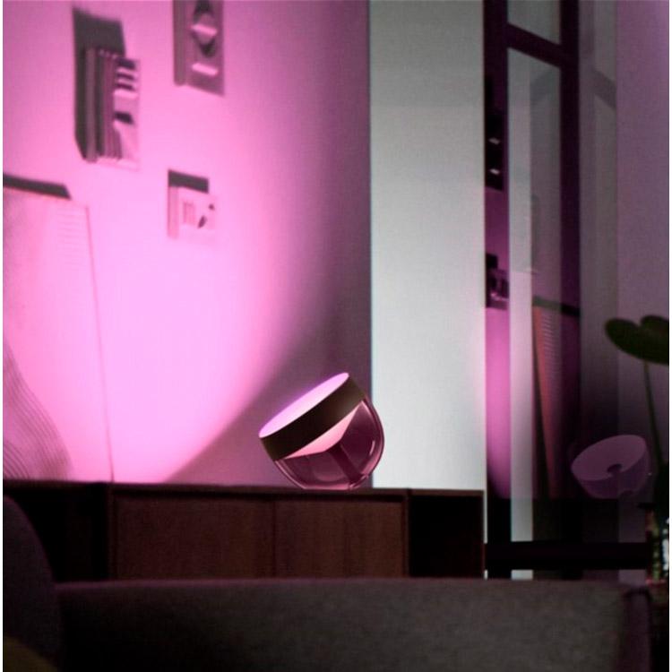 Настільна лампа Philips Hue Iris 2000K-6500K Color BT, DIM Black (929002376201) Тип управління смартфон