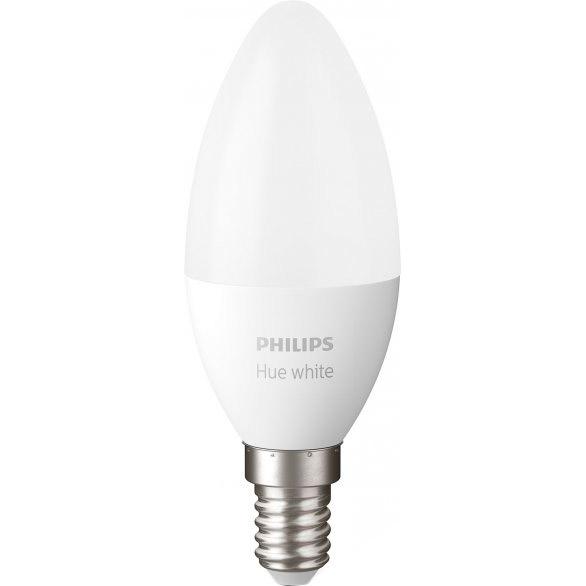 Умная лампа Philips Hue E14 5.5 W (40Вт) 2700K White Bluetooth димируемая (929002039903)