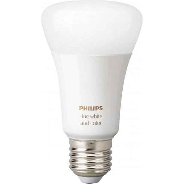 Умная лампа Philips Hue Single Bulb E27 9W (60Вт) 2000K-6500K Color Bluetooth димируемая (929002216824)