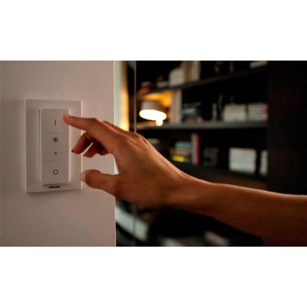 Пульт дистанционного управления Philips Hue Dimmer (929001173770) Дополнительно ZigBee Light Link, диапазон частот: 2400 - 2483.5 MГц