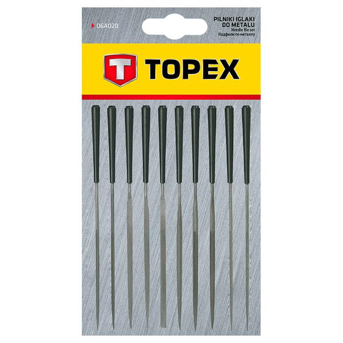 Надфили TOPEX игольчатые 10 шт (06A020)