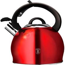 Чайник BERLINGER HAUS Metallic RED Line Edition 3 л (BH-1074)