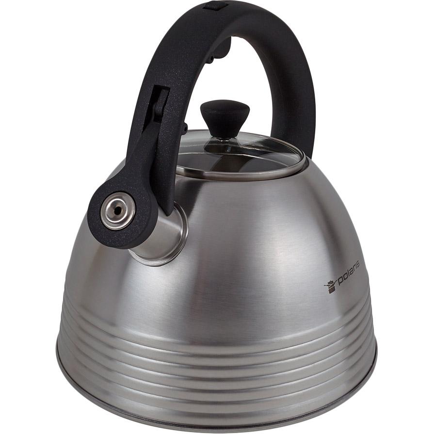 Чайник POLARIS Classica-3L 3 л Материал корпуса нержавеющая сталь