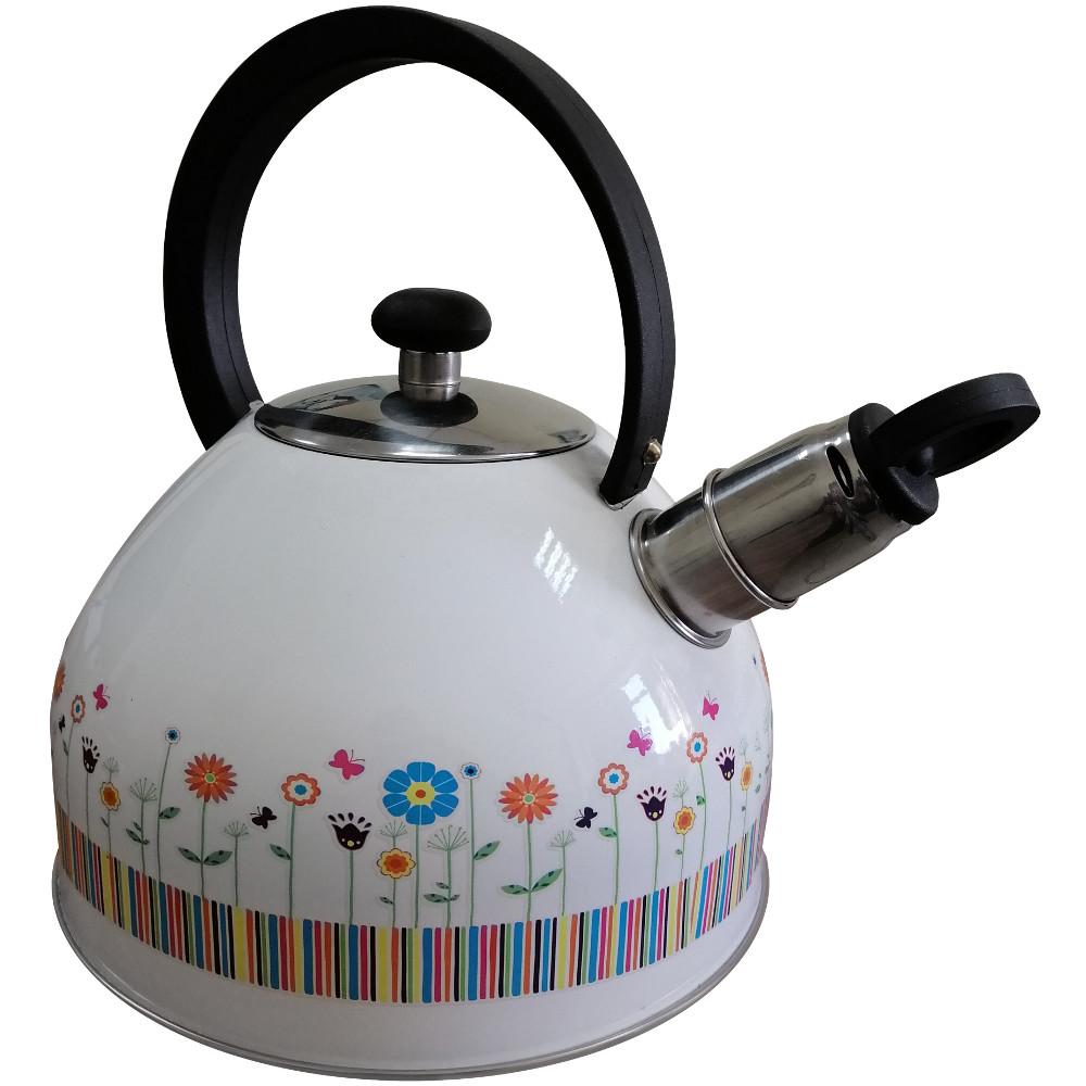 Чайник GUSTO GT-1402-25/1 2.5 л Flowers