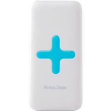 Powerbank 6000 mAh Wireless Charger White/Ligth Blue (PW6000U2WH-BL)
