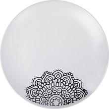 Тарелка обеденная LIMITED EDITION Kora 25 см White (JH5277S-2)