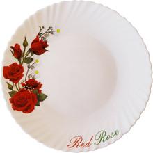 Тарілка десертна VITTORA Червона троянда 190 мм (V-190R)