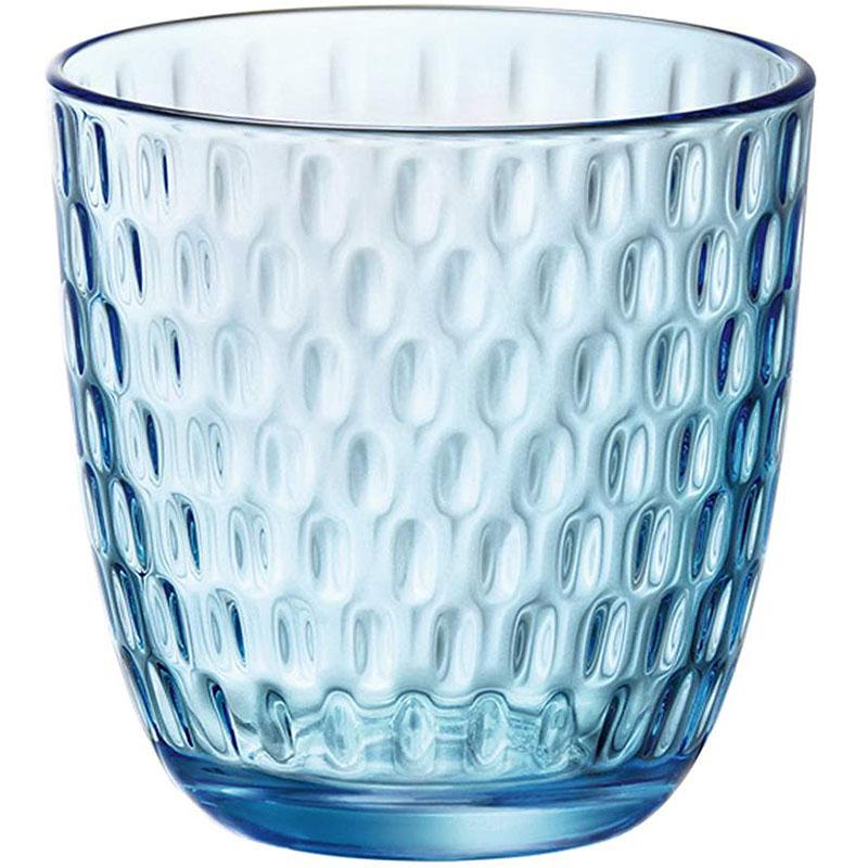 Набор стаканов BORMIOLI ROCCO Slot 6x290 мл Lively Blue (580506VNA021990)