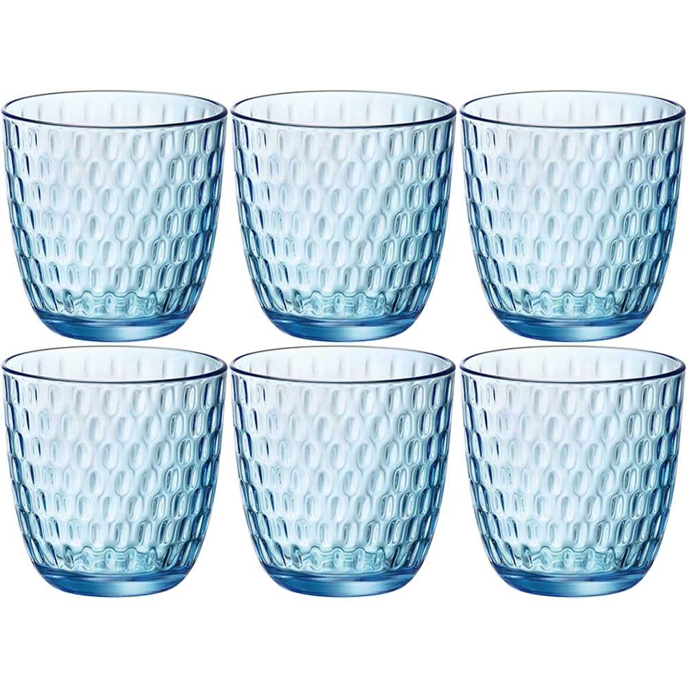 Набор стаканов BORMIOLI ROCCO Slot 6x290 мл Lively Blue (580506VNA021990) Тип стакан