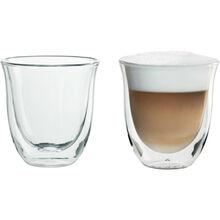 Стакан DELONGHI SET 6 GLASSES-CAPPUCCINO 190ML (5513296661)