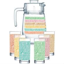 Набор для напитков Luminarc Amsterdam Rainbow 7 предметов (Q2737)