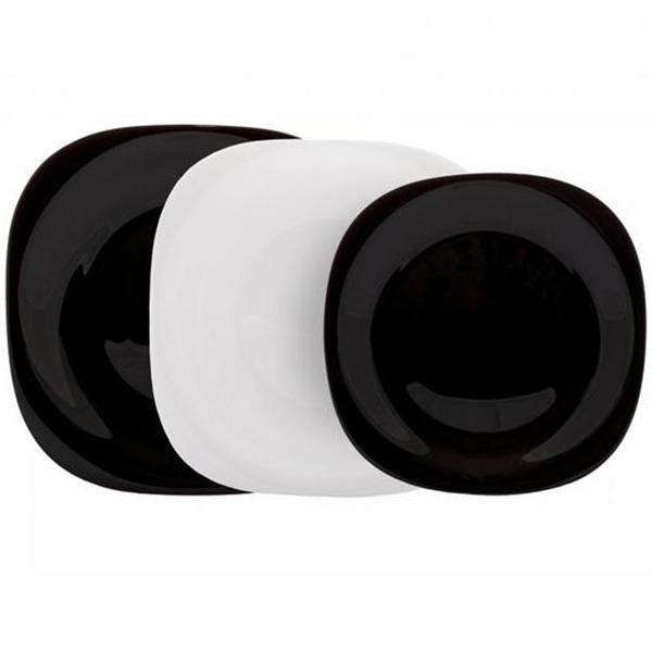 Сервиз LUMINARC CARINE WHITE&BLACK 18 пр. (N1479)