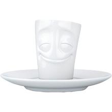Сервиз TASSEN Espresso cheery 80 мл White (TASS21201/TA)