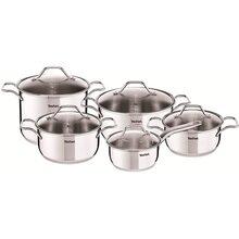 Набор посуды TEFAL A702SA44 Intuition 6 л + 4.9 л + 2.9 л + 2 л + 1.3 л