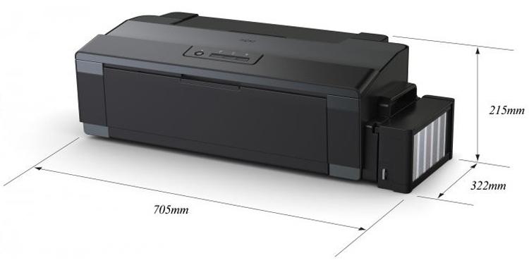 Принтер струйный EPSON L1300 (C11CD81402) Тип печати цветная