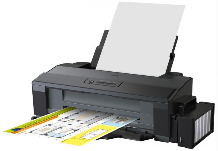Принтер струйный EPSON L1300 (C11CD81402) Максимальное качество печати 5760 х 1440