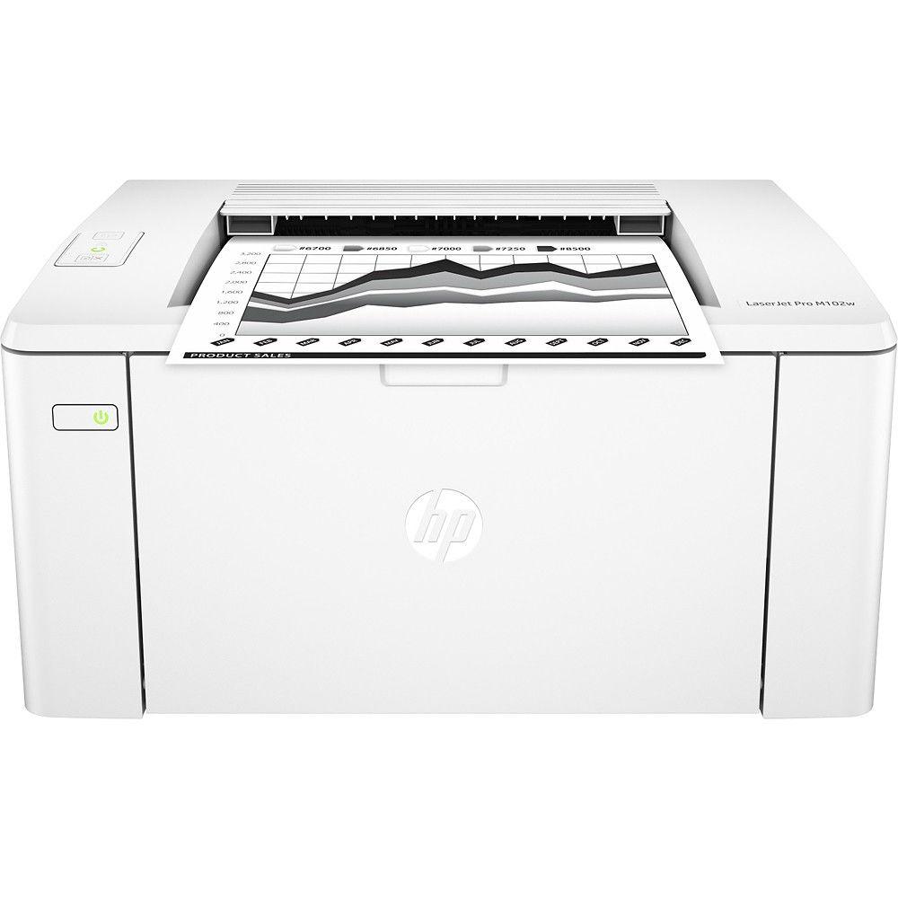 Принтер лазерный HP LaserJet Pro M102w with Wi-Fi (G3Q35A)