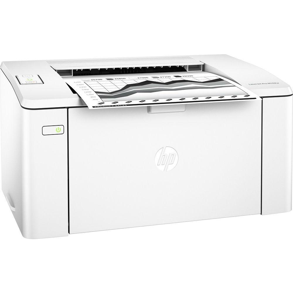 Принтер лазерный HP LaserJet Pro M102w with Wi-Fi (G3Q35A) Технология печати лазерная