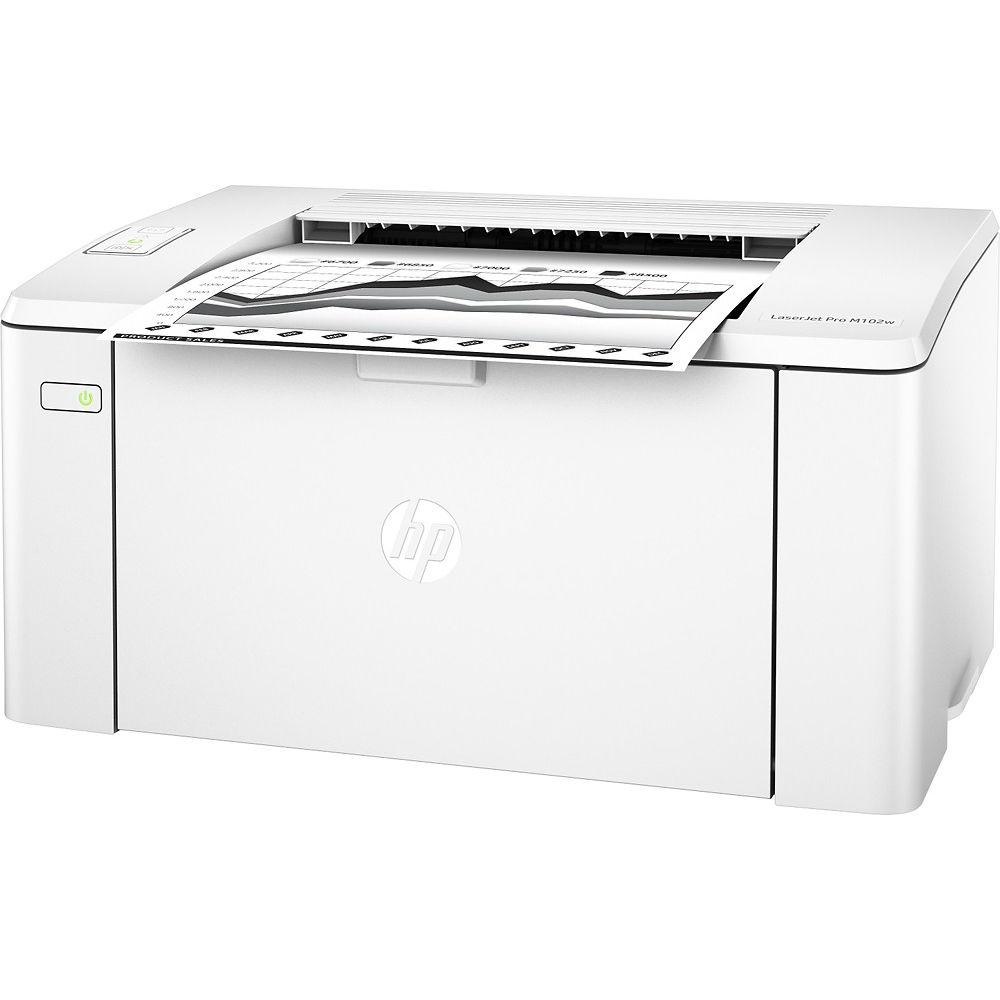 Принтер лазерный HP LaserJet Pro M102w with Wi-Fi (G3Q35A) Тип печати монохромная