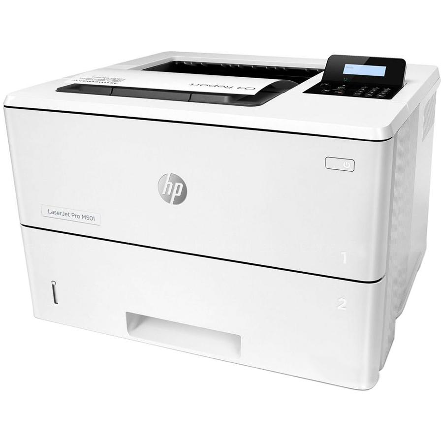 Принтер лазерный HP LaserJet Pro M501dn Тип печати монохромная