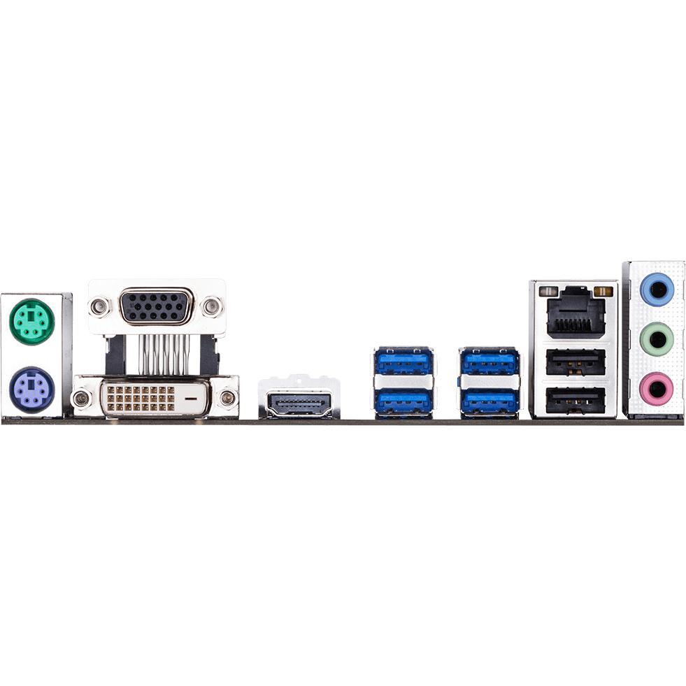 Материнская плата GIGABYTE B450M S2H Поддерживаемые процессоры Ryzen 1-го и 2-го поколений / Ryzen с графикой Radeon Vega