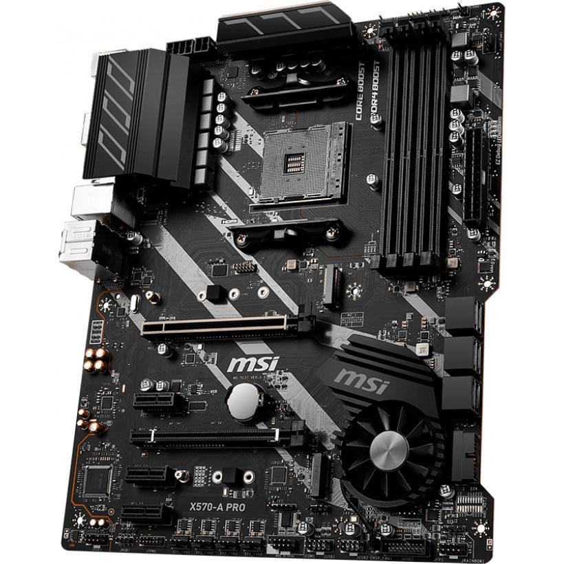 Материнская плата MSI X570-A PRO Назначение для настольного компьютера
