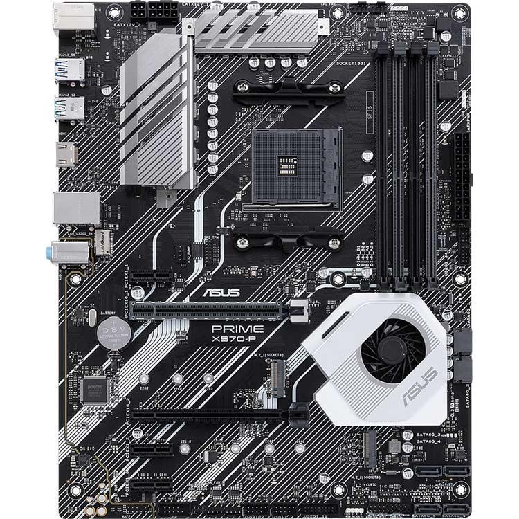 Материнская плата ASUS PRIME X570-P Поддерживаемые процессоры Ryzen 2000/3000
