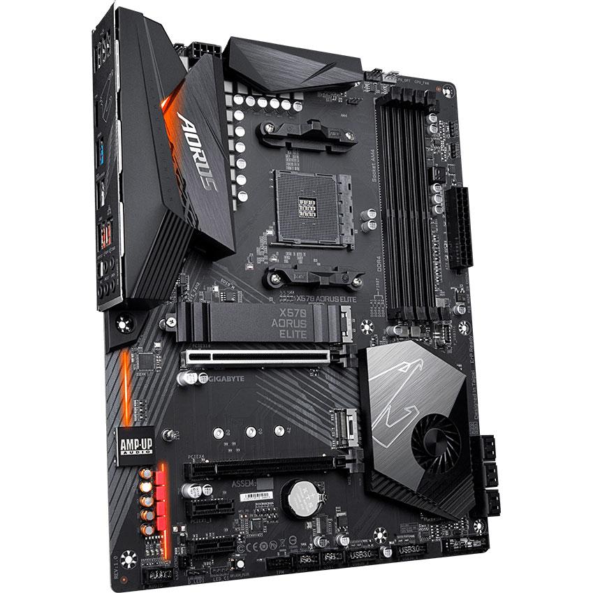 GIGABYTE X570 AORUS ELITE sAM4 Назначение для настольного компьютера