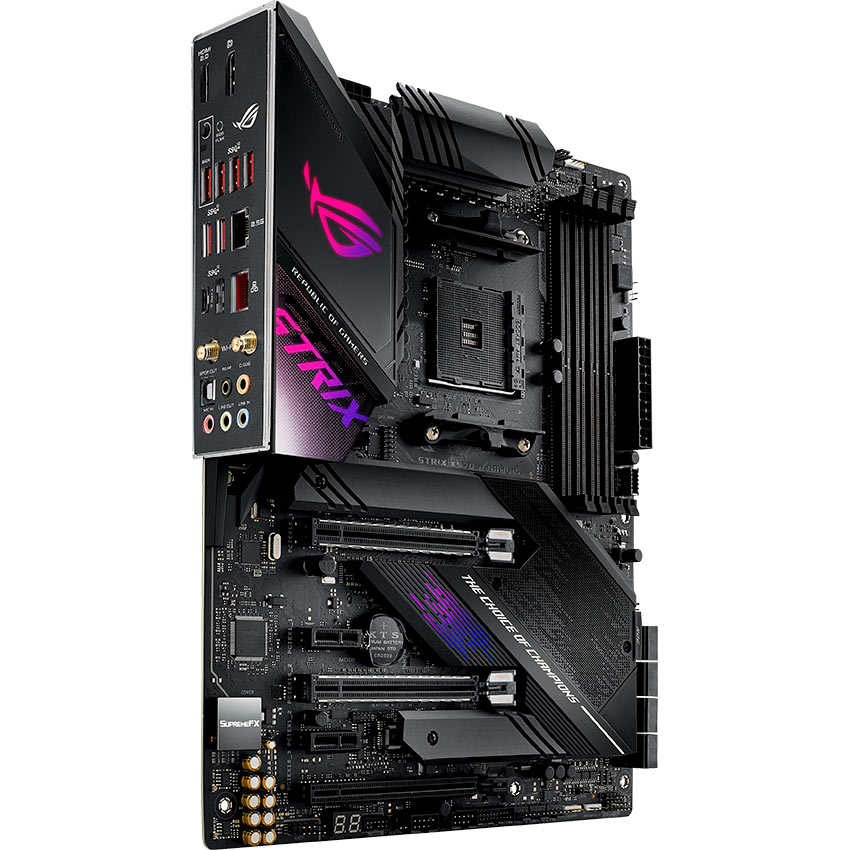 Материнская плата ASUS STRIX X570-E GAMING Сокет AMD AM4