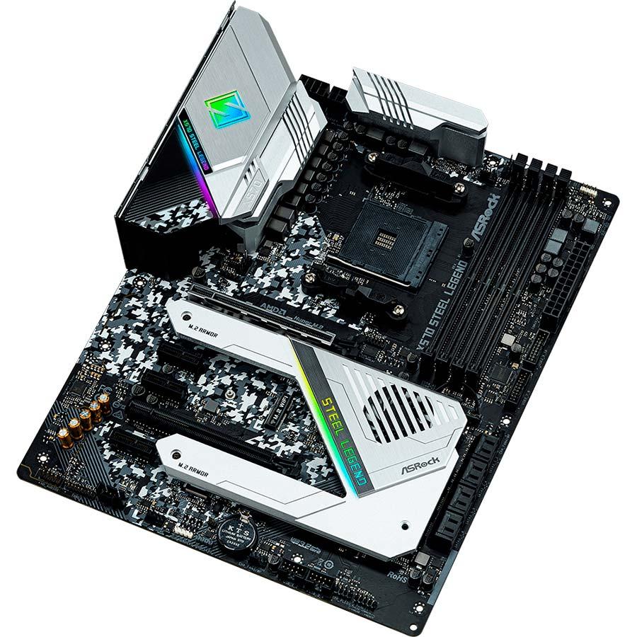 Материнская плата ASROCK X570 Steel Legend Назначение для настольного компьютера