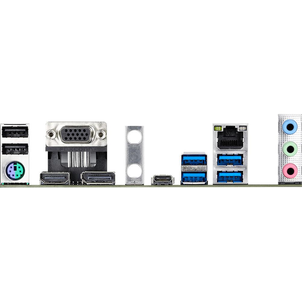Материнская плата ASROCK B460M PRO4 Поддерживаемые процессоры Intel Comet Lake-S
