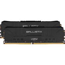Модуль пам'яті MICRON CRUCIAL Ballistix DDR4 2x16Gb 3000Mhz Black (BL2K16G30C15U4B)