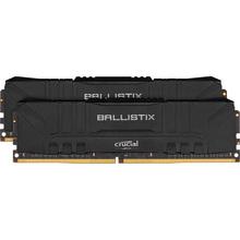 Модуль памяти MICRON CRUCIAL Ballistix DDR4 2x8Gb 3600Mhz Black (BL2K8G36C16U4B)
