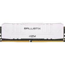 Модуль пам'яті CRUCIAL DRAM Ballistix White 16GB DDR4 2666MT/s White (BL16G26C16U4W)