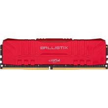 Модуль пам'яті CRUCIAL DRAM Ballsitix Red 16GB DDR4 3000MT/s Red (BL16G30C15U4R)