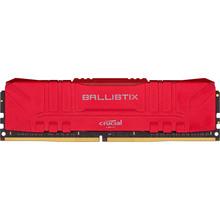 Модуль пам'яті CRUCIAL DRAM Ballsitix Red 8GB DDR4 2666MT/s Red (BL8G26C16U4R)