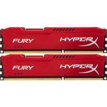 Набір HyperX OC KIT DDR3 2x8Gb 1600Mhz CL10 Fury Red (HX316C10FRK2/16)